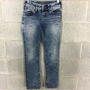 Silver Jeans Suki Straight Size 4P Stretch